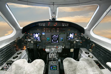citation-excel avionics aviation photography