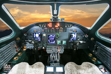 citation-excel avionics aviation photography