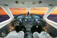 citation-excel-c-012 avionics aviation photography