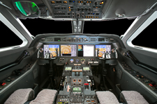 g450-avionics exterior aviation photography