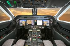 g450-avionics exterior aviation photography