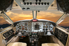 kingair-c-009 avionics aviation photography